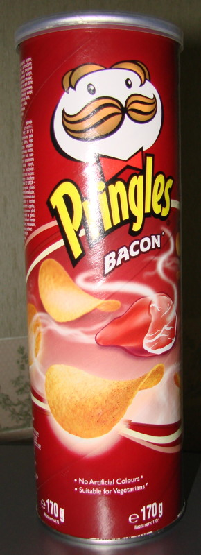 Bacon Flavored Pringles